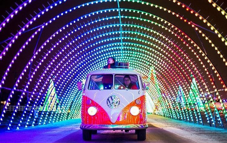 Christmas in Color Tunnel