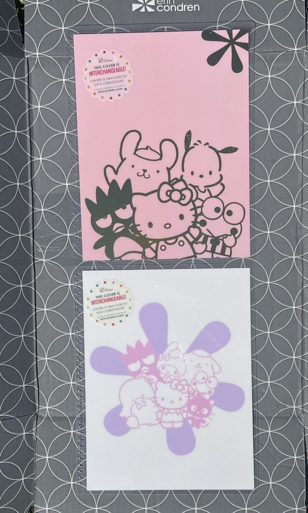 Additional Hello Kitty and Friends Erin Condren planner covers